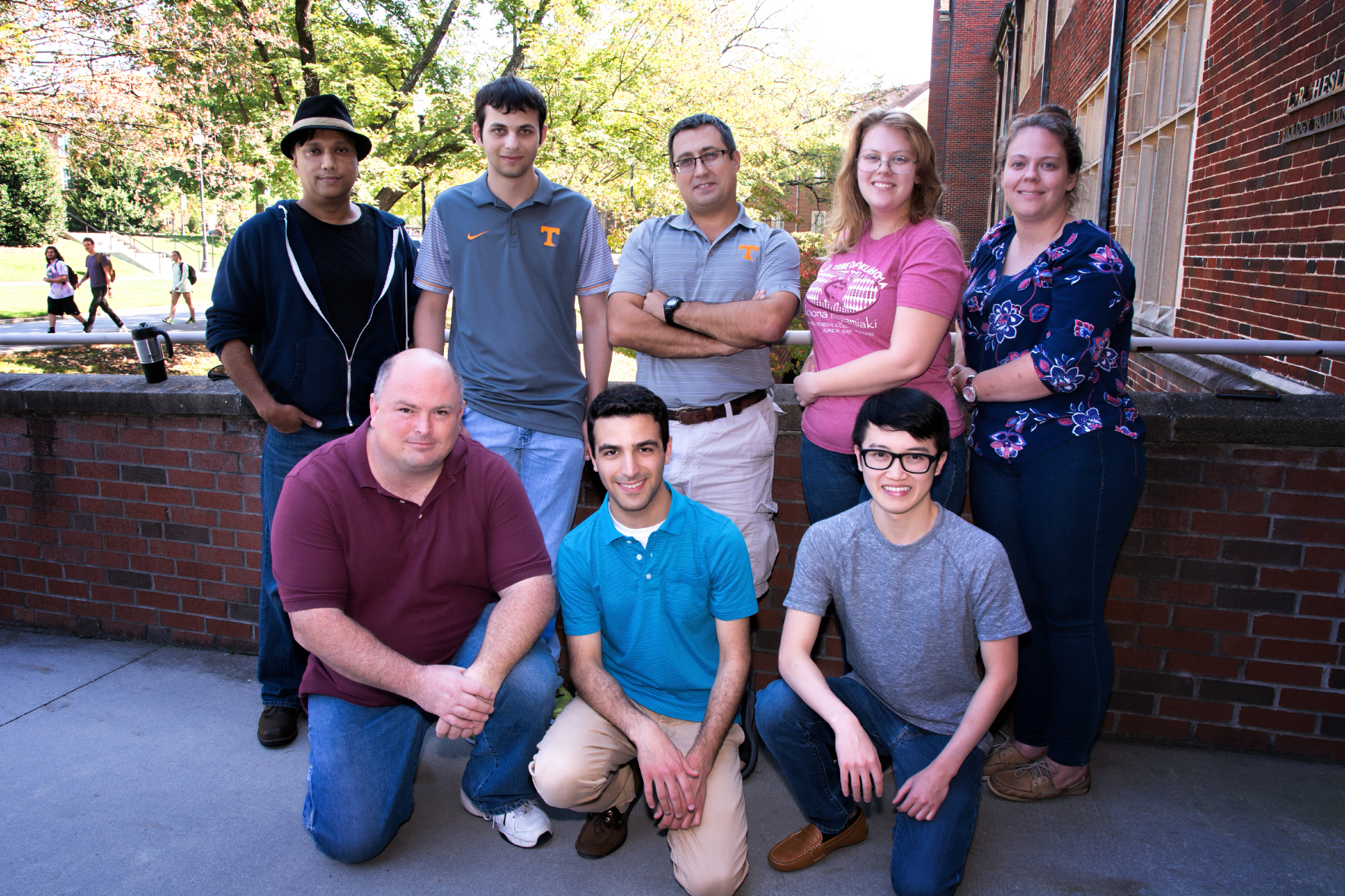 Theoretical Immunology group at UTK (2017)